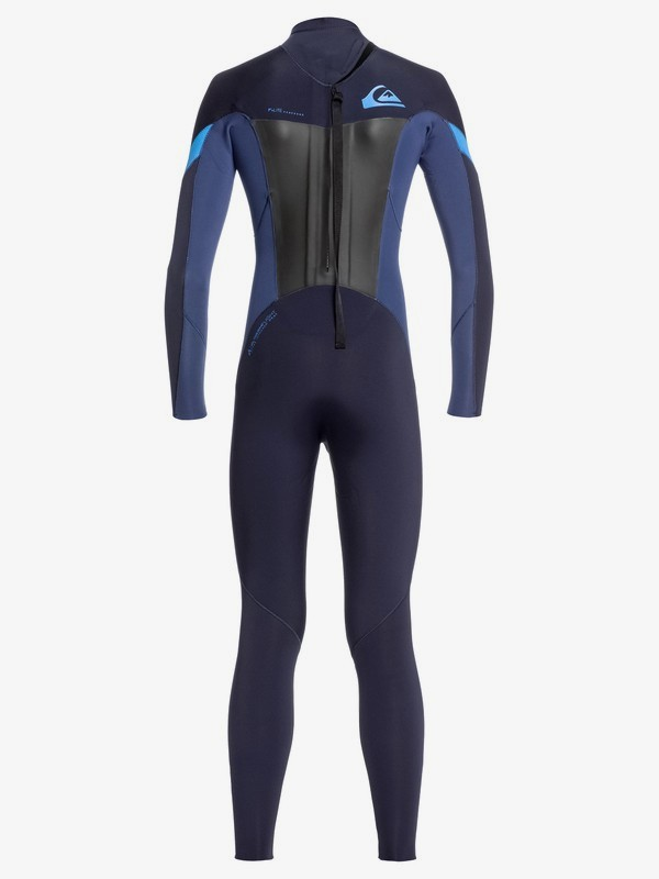 5/4/3mm Syncro - Back Zip GBS Wetsuit for Boys 8-16  EQBW103054