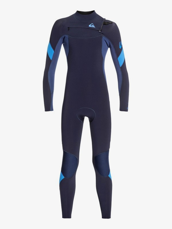 5/4/3mm Syncro - Chest Zip GBS Wetsuit for Boys 8-16  EQBW103055