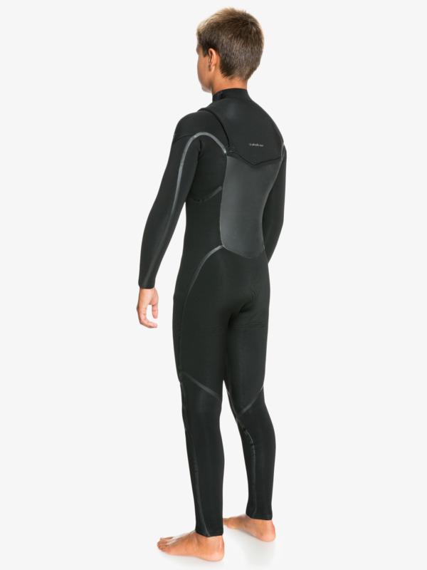 5/4/3mm Marathon Sessions - Chest Zip Wetsuit for Boys  EQBW103077