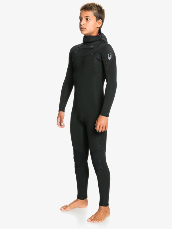 4/3mm Everyday Sessions - Chest Zip Wetsuit for Boys  EQBW203005