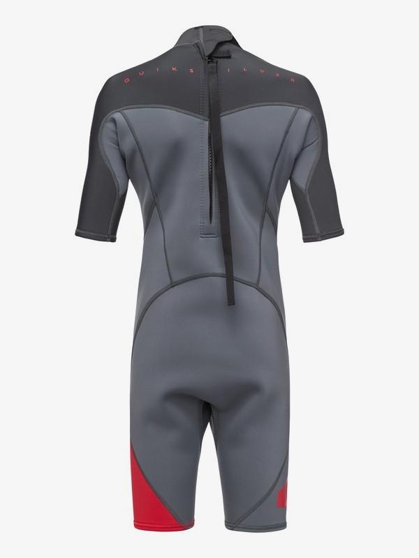 2/2mm Syncro Series - Short Sleeve Back Zip FLT Springsuit for Boys 8-16  EQBW503004