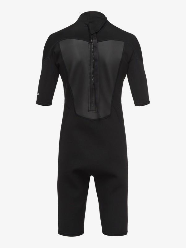 2/2mm Prologue - Short Sleeve Back Zip Springsuit for Boys 8-16  EQBW503008