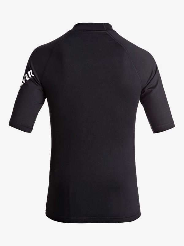 All Time - Short Sleeve UPF 50 Rash Vest for Boys 8-16 EQBWR03060
