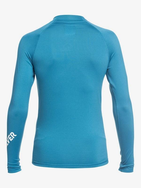All Time - Long Sleeve UPF 50 Rash Vest for Boys 8-16  EQBWR03075