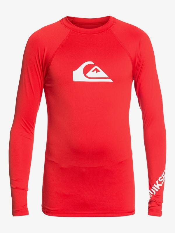 All Time - Long Sleeve UPF 50 Rash Vest for Boys 8-16  EQBWR03075