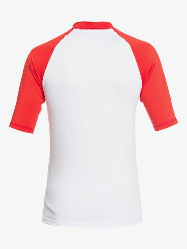 Always There - Short Sleeve UPF 50 Rash Vest for Boys 8-16  EQBWR03076