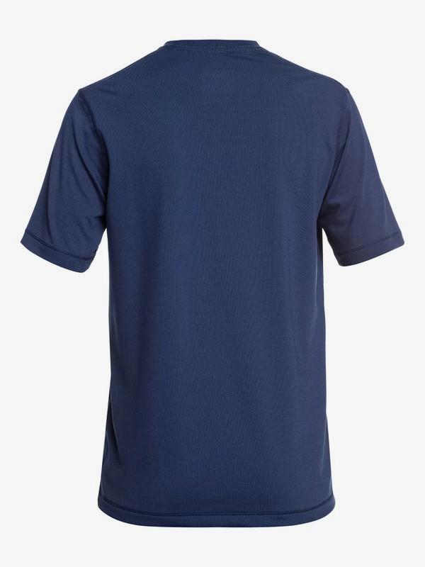 Bubble Logo - Short Sleeve UPF 50 Surf T-Shirt for Boys 8-16  EQBWR03089