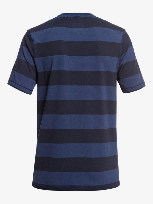 Stripe Sea - Short Sleeve UPF 50 Surf T-Shirt for Boys 8-16  EQBWR03090