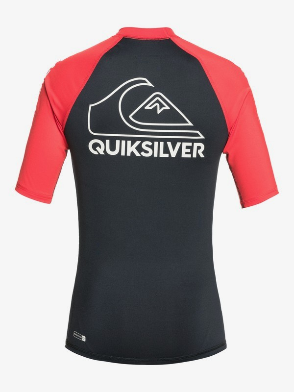On Tour - Short Sleeve UPF 50 Rash Vest for Boys 8-16  EQBWR03123