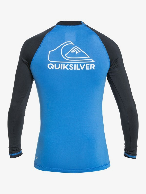 On Tour - Long Sleeve UPF 50 Rash Vest for Boys 8-16  EQBWR03138