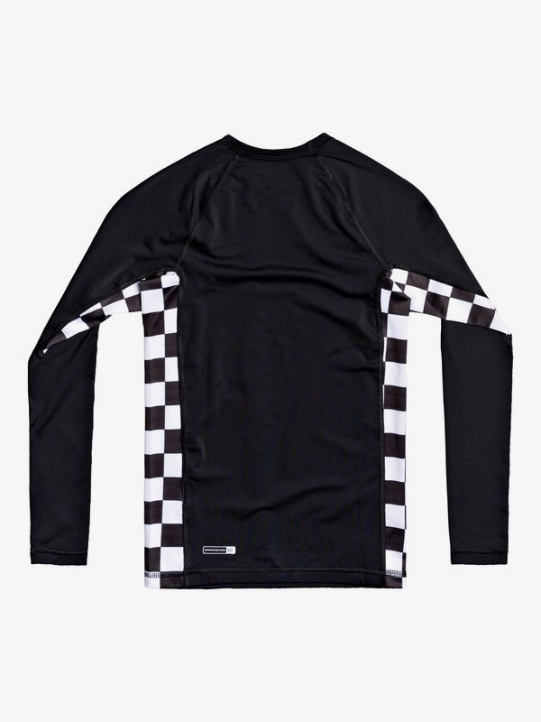 Check This - Long Sleeve UPF 50 Rash Vest for Boys 8-16  EQBWR03157