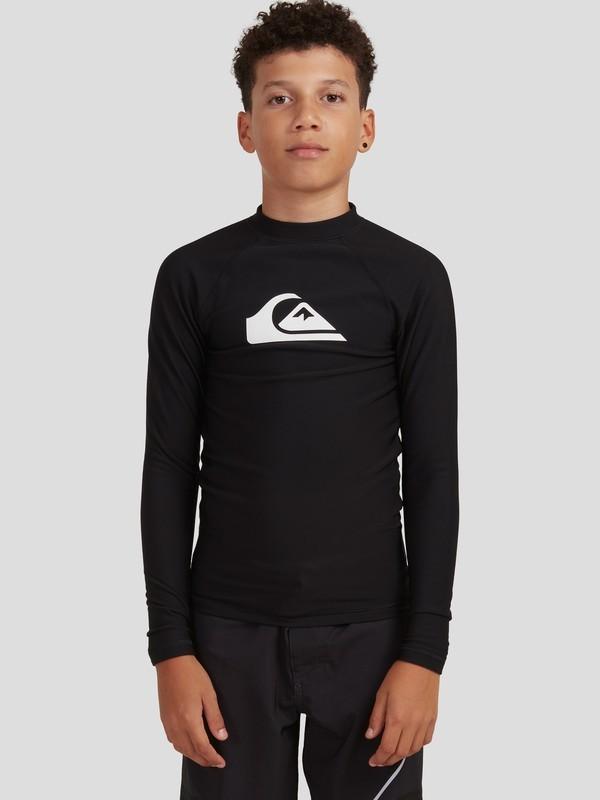 Heater - Long Sleeve UPF 50 Rash Vest for Boys 8-16  EQBWR03189