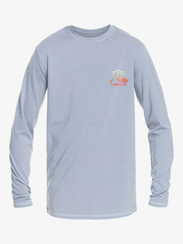 Heritage Heather - Long Sleeve UPF 50 Surf T-Shirt for Boys 8-16  EQBWR03191