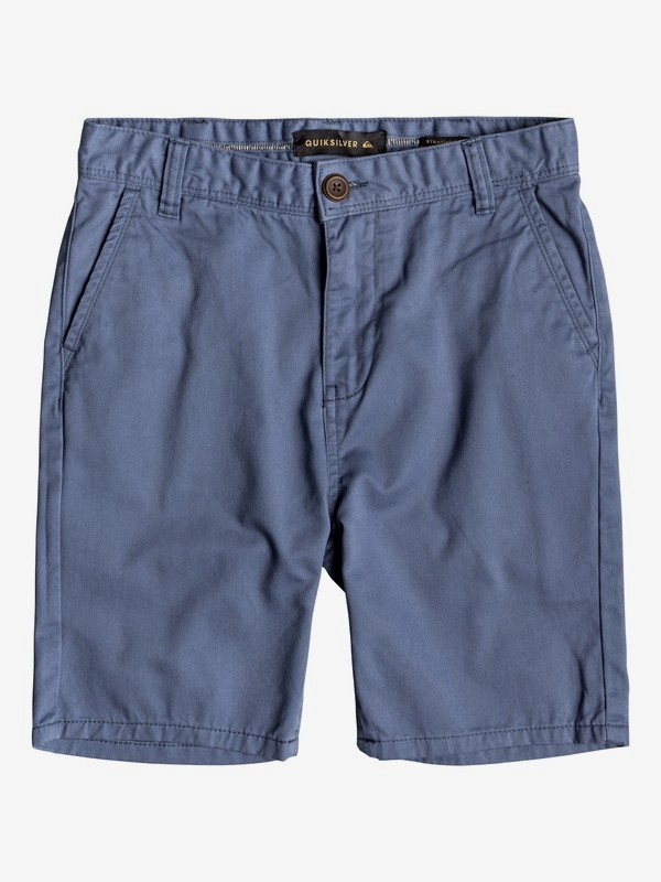 0 Everyday - Short Chino para Chicos 8-16 Azul EQBWS03225 Quiksilver