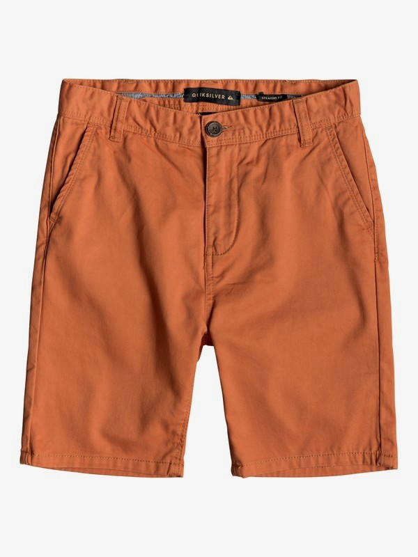 0 Everyday - Short Chino para Chicos 8-16 Naranja EQBWS03225 Quiksilver