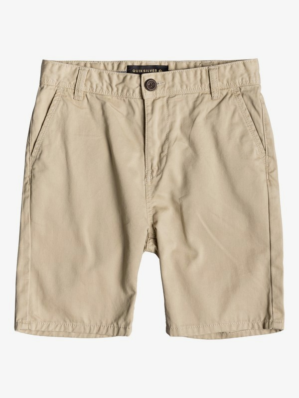 0 Everyday - Short Chino para Chicos 8-16 Beige EQBWS03225 Quiksilver