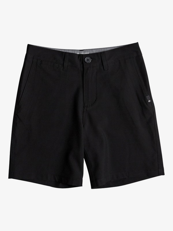 "0 Union Amphibian 16"" - Amphibian Board Shorts for Boys 8-16 Black EQBWS03237 Quiksilver"