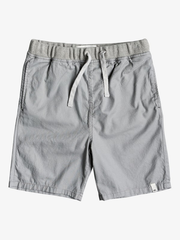 0 Seaside Coda - Shorts for Boys 8-16 Grey EQBWS03272 Quiksilver