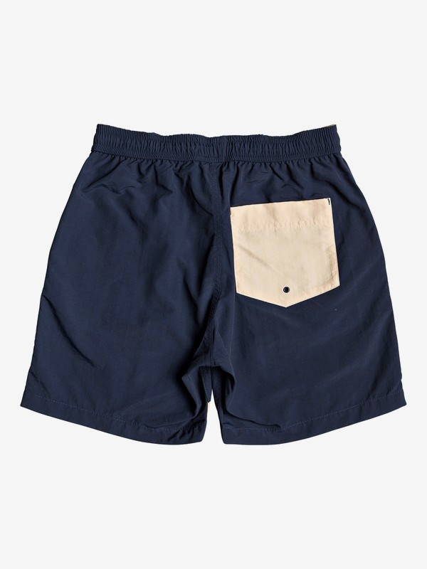 Water Driven - Elasticated Shorts for Boys 8-16 EQBWS03273