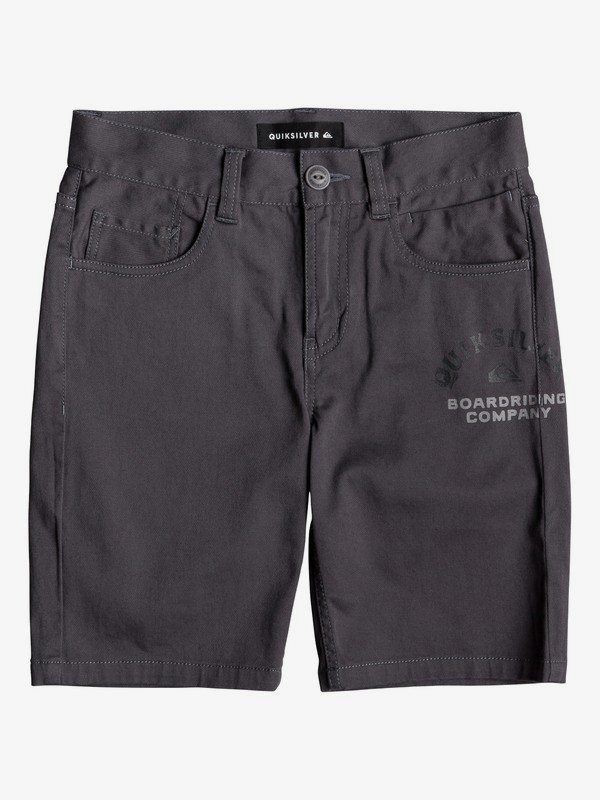 0 Mel Is Born - Short para Chicos 8-16 Negro EQBWS03275 Quiksilver