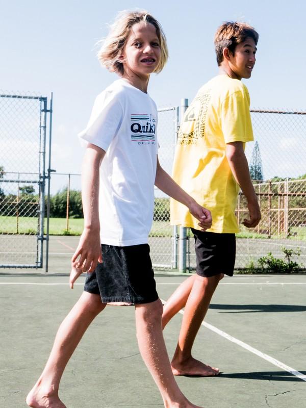 "Wax Out 14"" - Elasticated Corduroy Shorts for Boys 8-16  EQBWS03289"