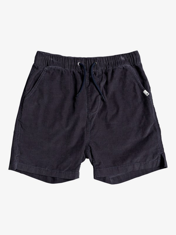 "Baia Duke 14"" - Elasticated Corduroy Shorts for Boys 8-16  EQBWS03317"
