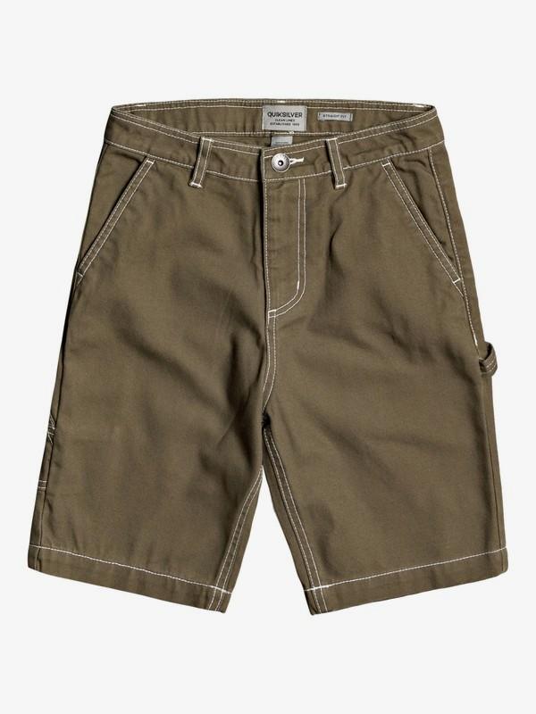Gawer - Workwear Shorts for Boys 8-16  EQBWS03322