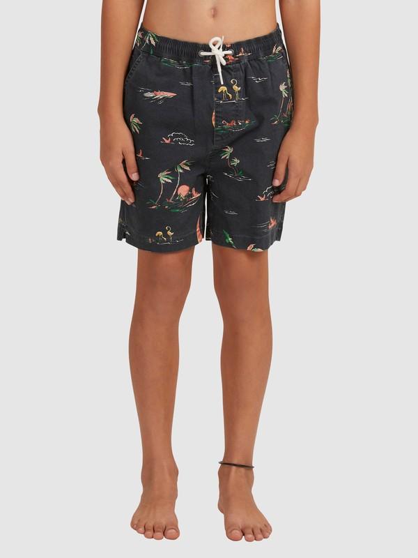 Taxer - Elasticated Shorts for Boys 8-16  EQBWS03335