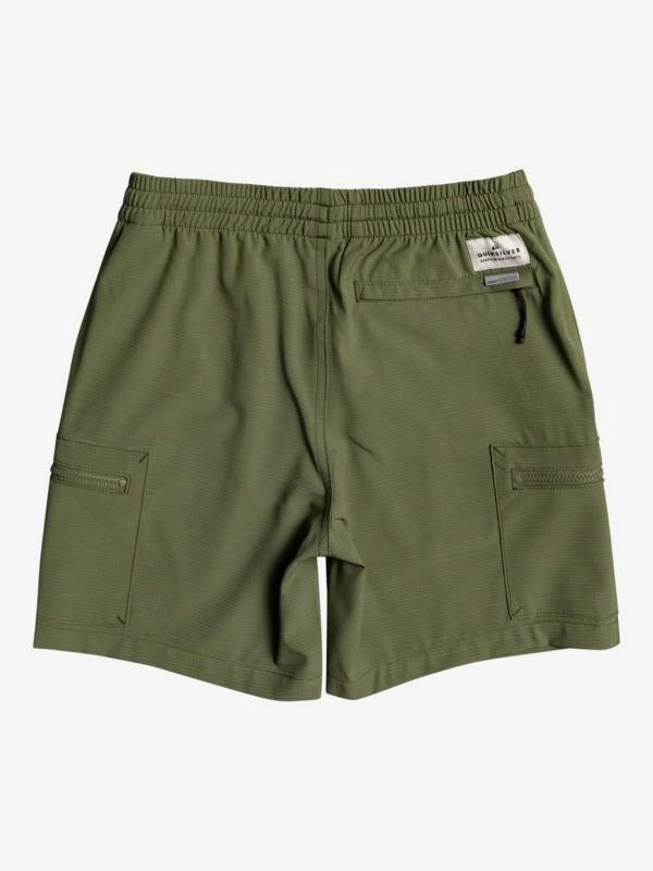 """Elastic Cargo 15"""" - Amphibian Board Shorts for Boys 8-16  EQBWS03338"""