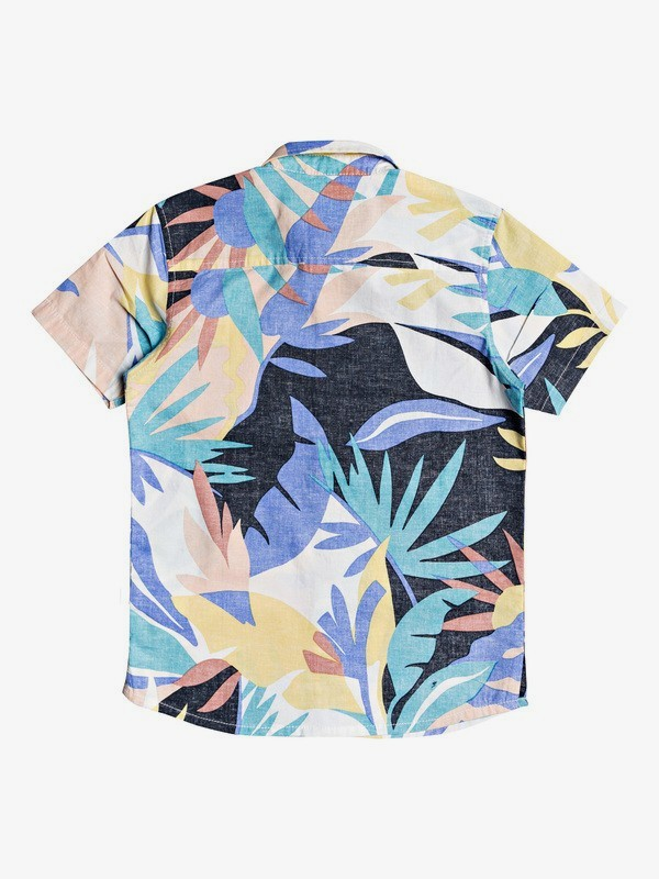 Tropical Flow - Short Sleeve Shirt for Boys 8-16  EQBWT03293