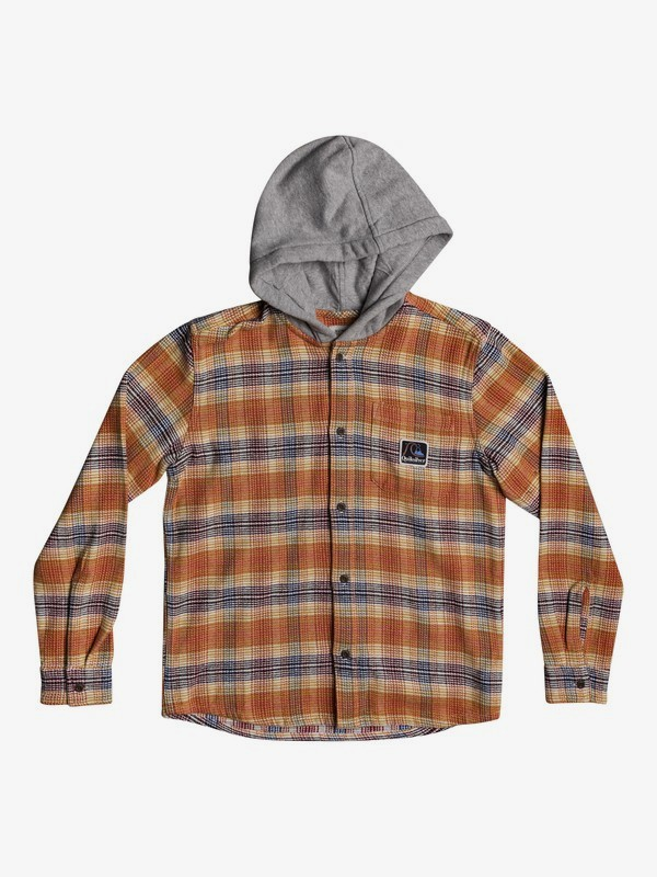 Young Loggers - Long Sleeve Flannel Shirt for Boys 8-16  EQBWT03295