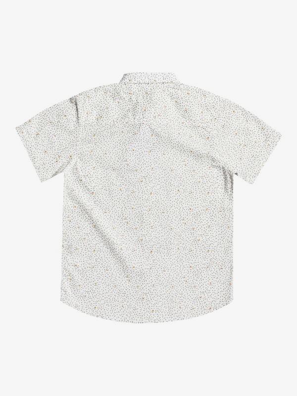 Spilled Rice - Short Sleeve Flannel Shirt for Boys 8-16  EQBWT03301
