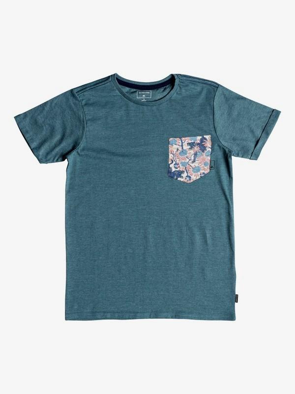 0 Stay - Camiseta para Chicos 8-16 Azul EQBZT03776 Quiksilver