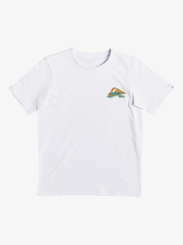 0 Tattered - T-Shirt for Boys 8-16 White EQBZT03904 Quiksilver