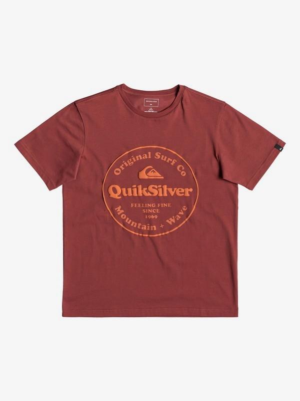 0 Детская футболка Secret Ingredient Красный EQBZT03911 Quiksilver