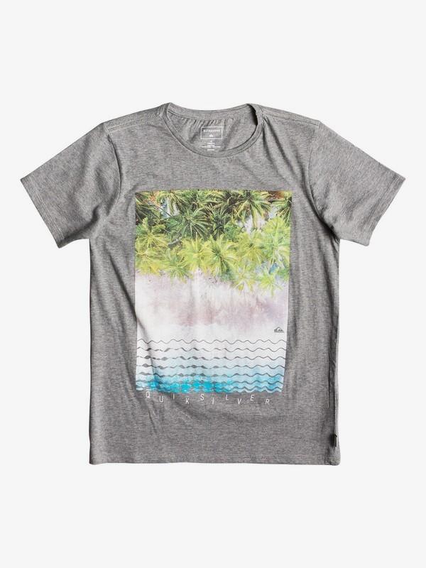 0 Детская футболка Perth Or Bust Черный EQBZT03922 Quiksilver