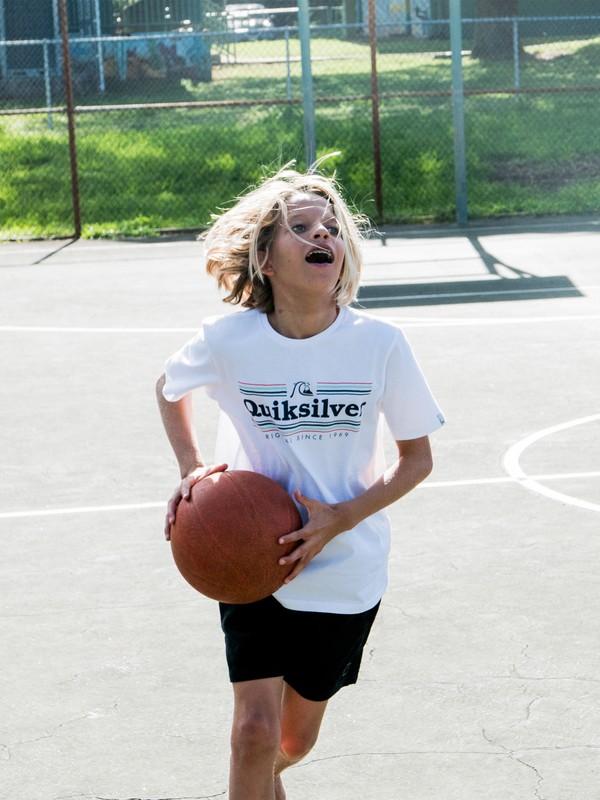 0 Get Buzzy - T-Shirt voor Jongens 8-16 White EQBZT04008 Quiksilver