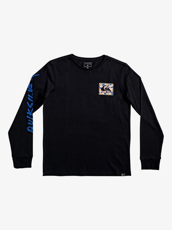 0 Enlighted Tunnel - T-shirt met lange mouwen voor Jongens 8-16 Black EQBZT04030 Quiksilver
