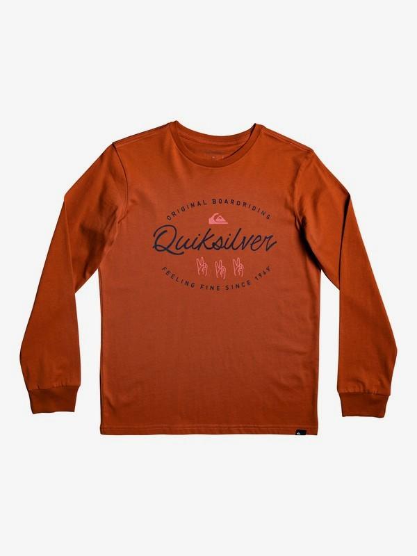 Wave Slaves - Long Sleeve T-Shirt for Boys 8-16  EQBZT04033