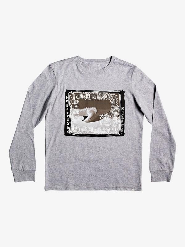 Double Threat - Long Sleeve T-Shirt for Boys 8-16  EQBZT04036