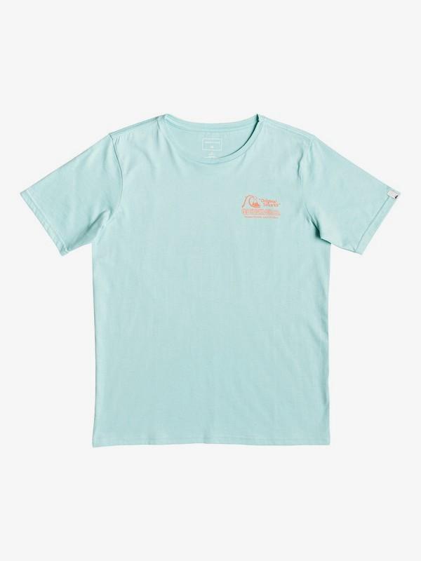 0 Daily Wax - T-Shirt voor Jongens 8-16 Blue EQBZT04047 Quiksilver