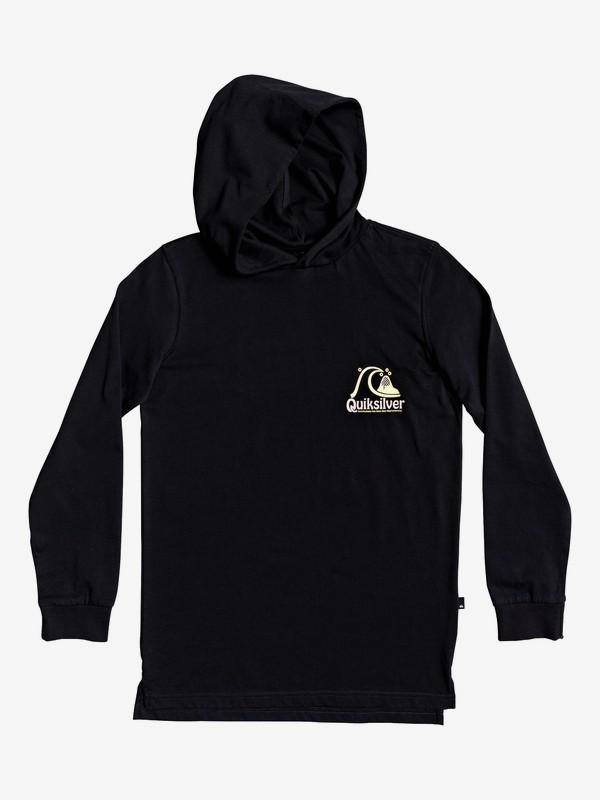 Empty Rooms - Long Sleeve Hooded T-Shirt  EQBZT04162