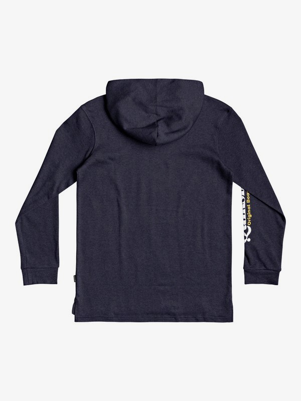 Check Yo Self - Long Sleeve Hooded T-Shirt for Boys 8-16  EQBZT04248