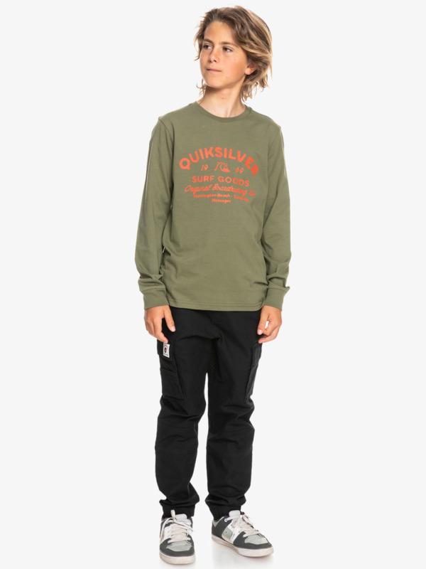 Closed Tion - Long Sleeve T-Shirt for Boys  EQBZT04376