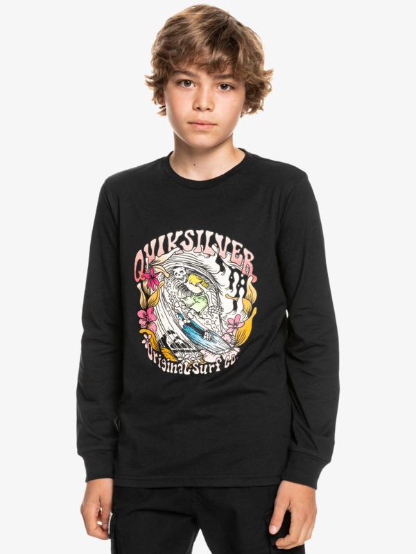 Wavey Skull - Long Sleeve T-Shirt for Boys  EQBZT04378