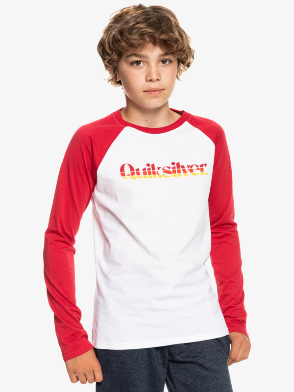 Primary Colours - Long Sleeve T-Shirt for Boys  EQBZT04380