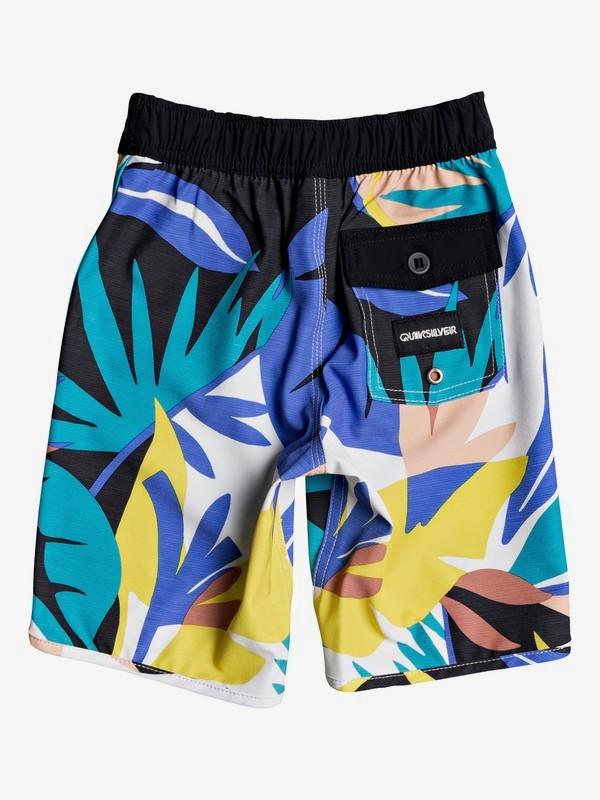 "Highline Tropical Flow 14"" - Board Shorts for Boys 2-7  EQKBS03261"