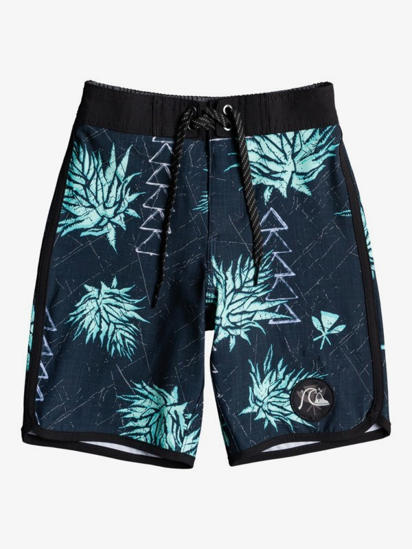 "Surfsilk Hawaii Scallop 14"" - Recycled Board Shorts for Boys 2-7  EQKBS03339"