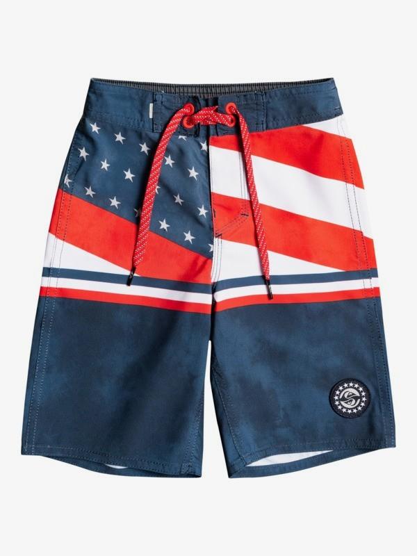 "Everyday Boardwalk 14"" - Recycled Board Shorts for Boys 2-7  EQKBS03340"