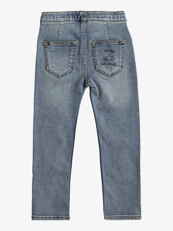 Spikas - Slim Fit Trousers for Boys 2-7 EQKDP03070